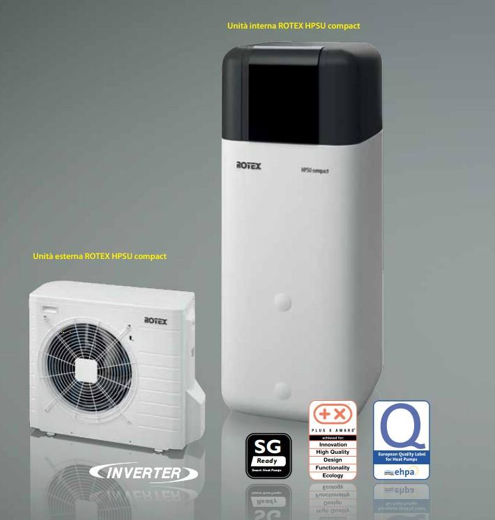 Pompa di calore Rotex HPSU Compact