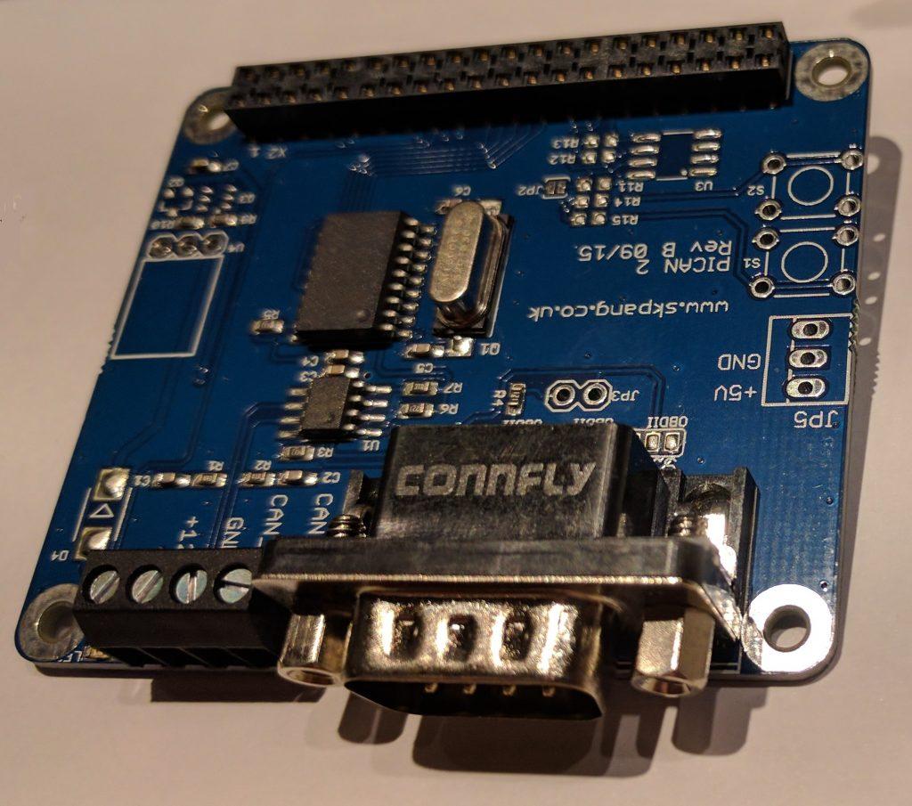 Raspberry Pi e PiCAN2
