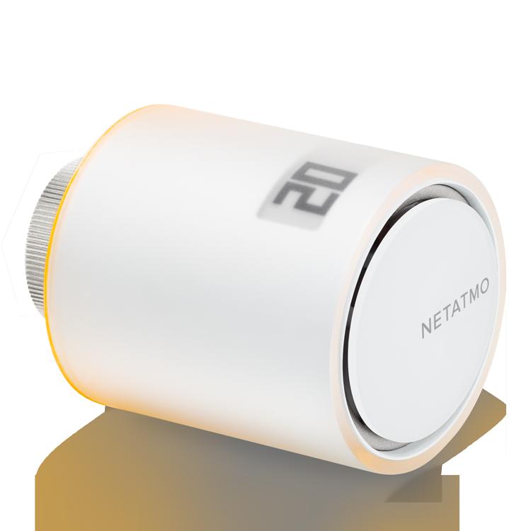 Valvole intelligenti Netatmo per termosifoni