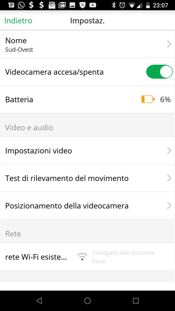 Telecamere WiFi a batteria Netgear Arlo Italia manuale italiano