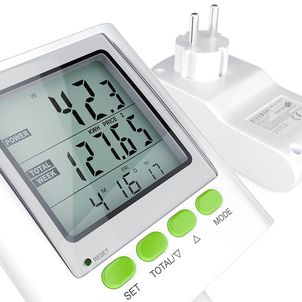 Come funziona misuratore di consumo elettrico Arendo