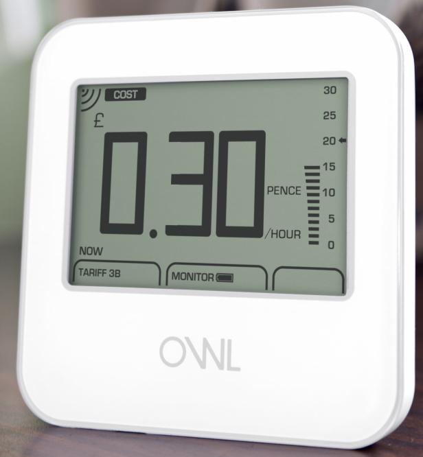 Come funziona misuratore di consumo elettrico OWL Micro+