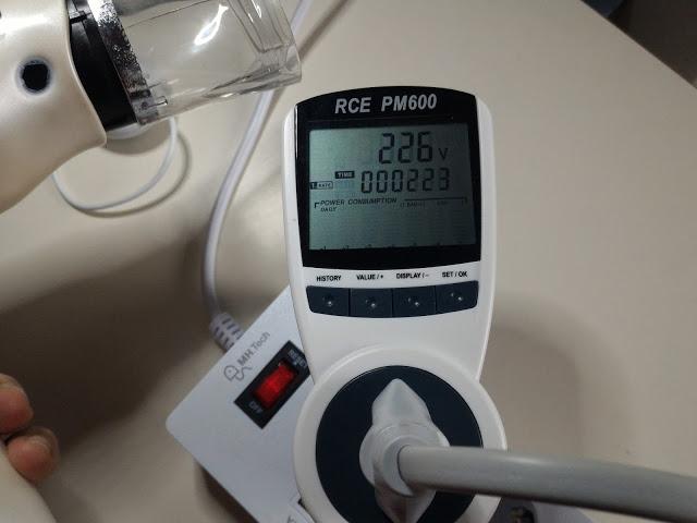 Misuratore consumi elettrici RCE PM600