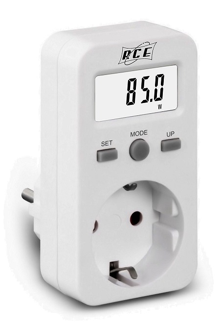 Come funziona misuratore di consumo elettrico RCE PM220