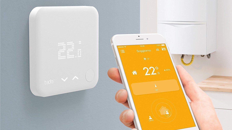 tado termostato intelligente e valvole termostatiche comandate da remoto