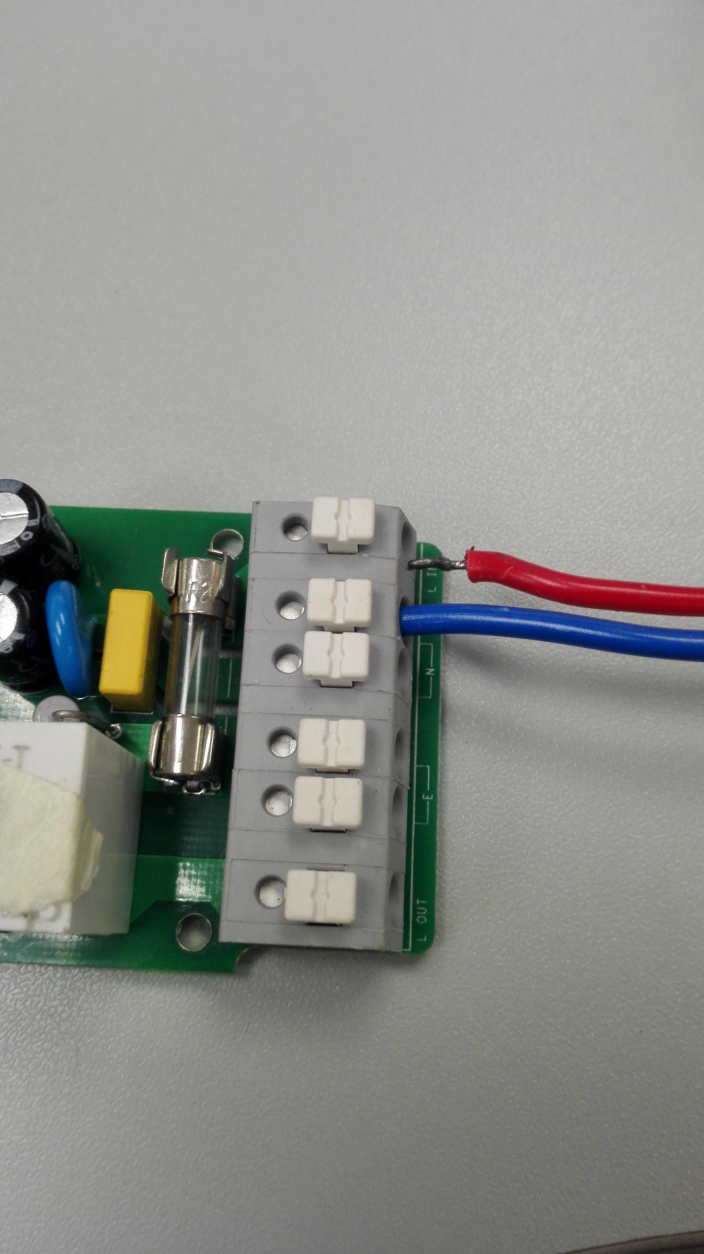 Sonoff WiFi contatto pulito; Sonoff non in linea; Sonoff pulsante
