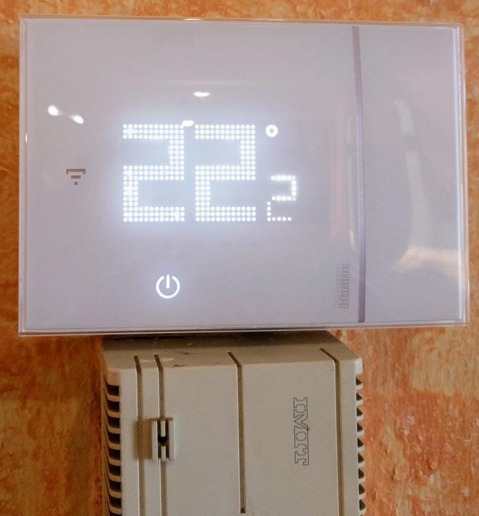 Termostato WiFi BTicino X8000
