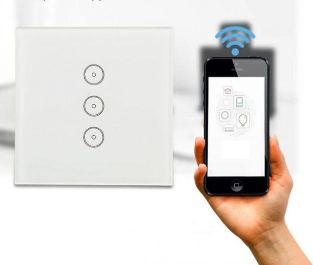 Circuito Wifi : Ankuoo rec interruttore wifi da incasso emylo livolo