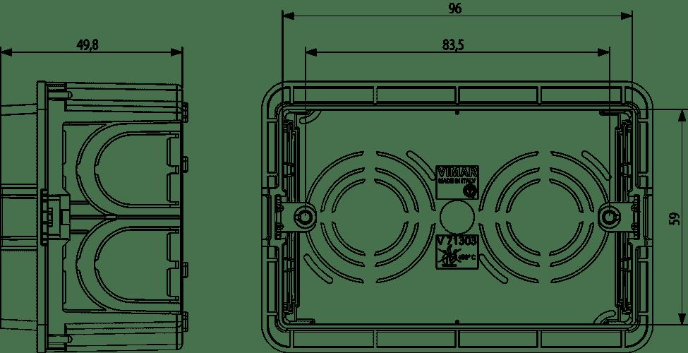 Dimensioni scatole elettriche da incasso