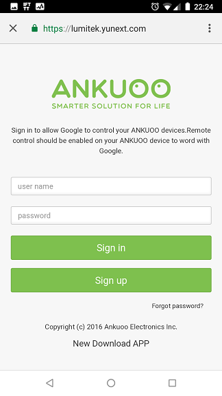 Ankuoo REC Google Home