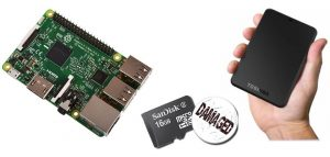 Raspberry Pi 3 B+ HDD hard disk esterno | Raspberry boot da USB
