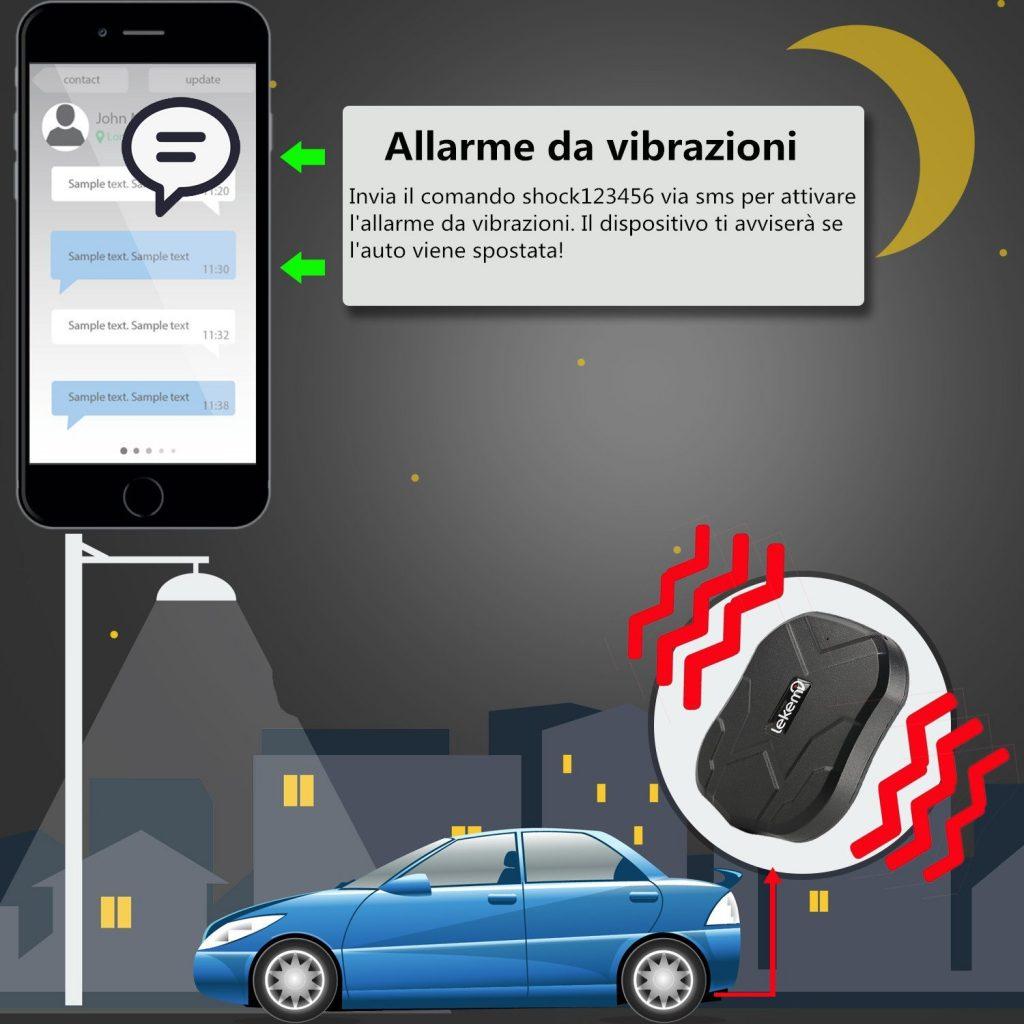 GPS tracker auto Lekemi