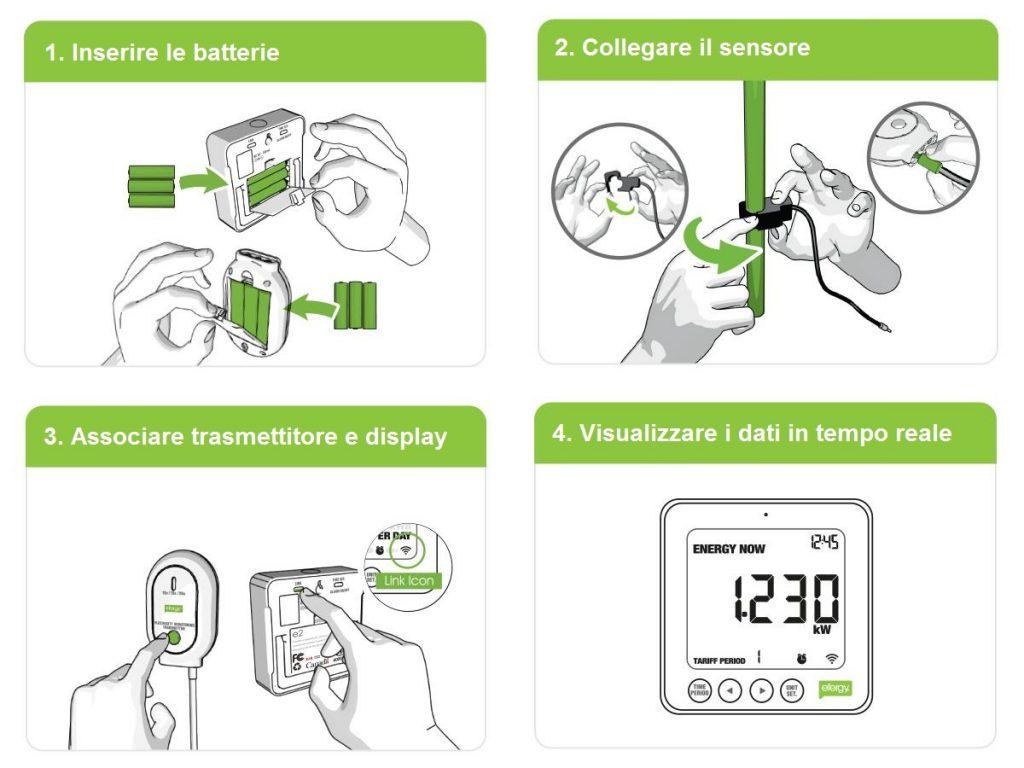 Misuratore consumo elettrico Efergy E2 Classic