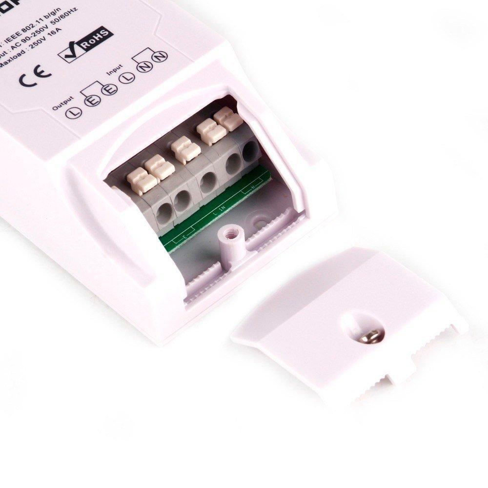 Schema Cablaggio Rete Lan Domestica : Sonoff termostato caldaia sonoff th16 manuale e istruzioni