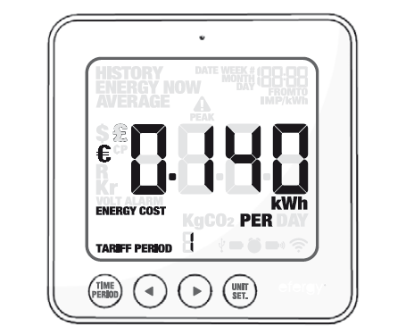 Efergy E2 Manuale Italiano