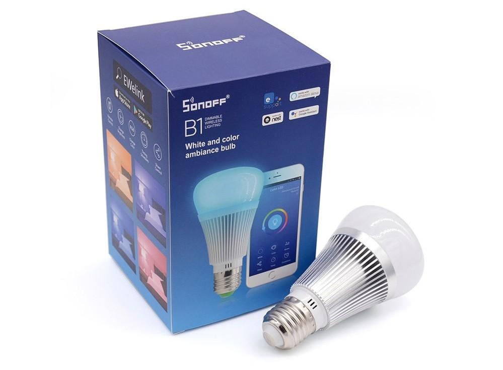 Lampadine WiFi Sonoff B1