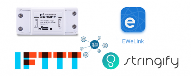 Sonoff IFTTT eWeLink Stringify | Guida completa in italiano a IFTTT Sonoff