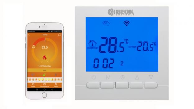 Beok BOT-313 WiFi manuale istruzioni italiano e recensione termostato