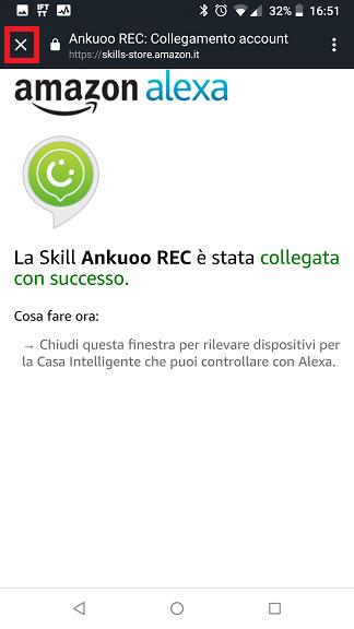 Ankuoo REC Alexa skill