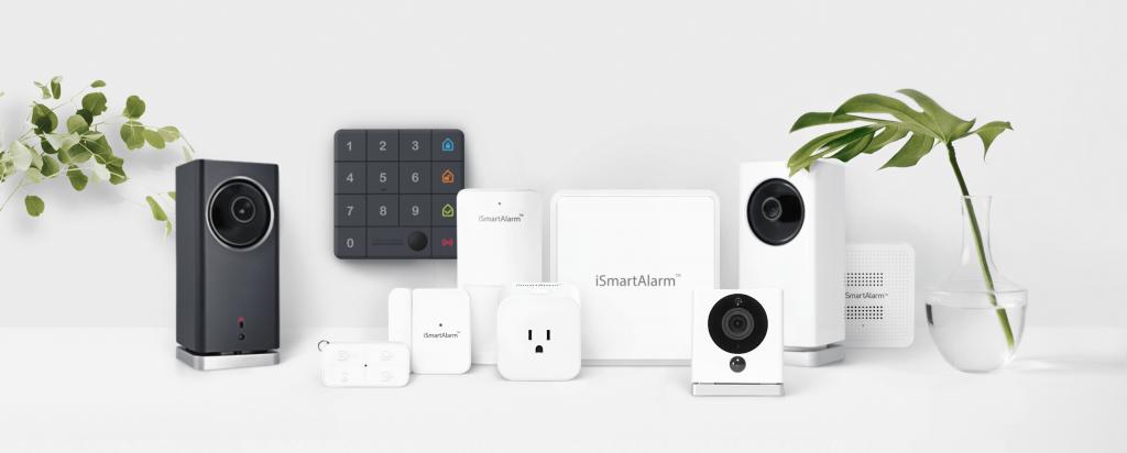 Antifurto smart casa WiFi iSmartAlarm