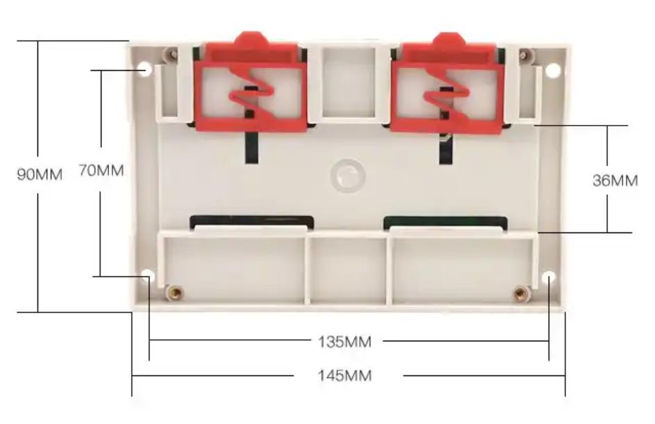 Sonoff 4CH Pro R2 Quadro Elettrico DIN