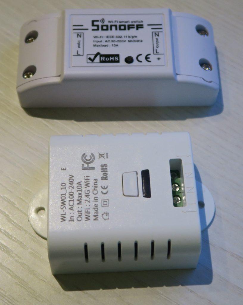 Mimoo Interruttori WiFi Sonoff Basic