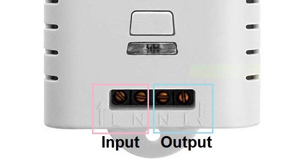 Schema Collegamento Interruttore Bipolare : Mimoo interruttori wifi istruzioni e schema alternative a sonoff