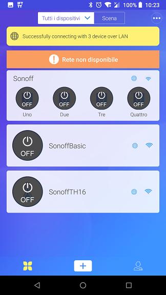 Sonoff rete non disponibile | Sonoff non in linea