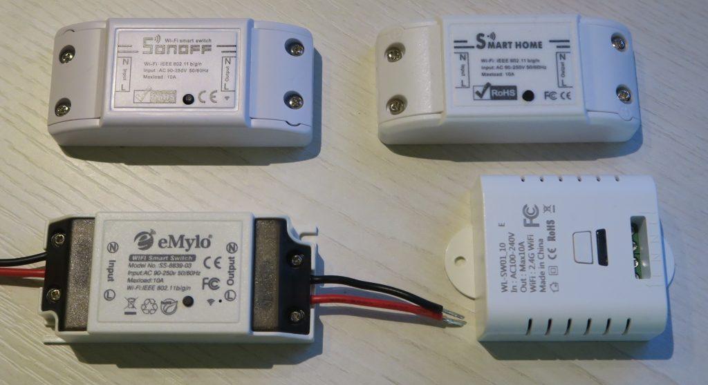 Sonoff alternative: eMylo, VIBIRIT, Meross e Henmi interruttore WiFi