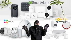 Miglior antifurto casa wireless 2018: iSmartAlarm, EzViz o Somfy Protect ?
