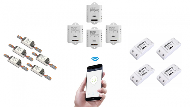 Sonoff alternative: eMylo, Mimoo, Meross e JamBer interruttore WiFi