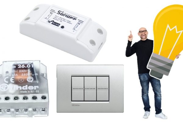 Sonoff relè passo passo: come collegare pulsante WiFi