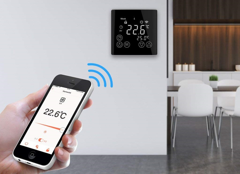 Welquic Termostato WiFi Smart LCD Touch Screen con App