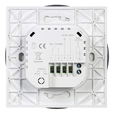 Termostato WiFi Decdeal BHT-6000-GC retro