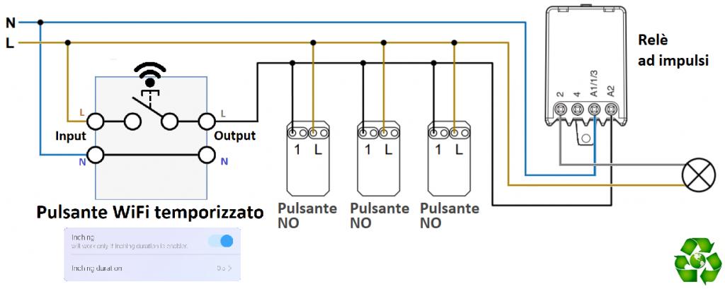 Sonoff Relè Passo Passo Come Collegare Pulsante Wifi