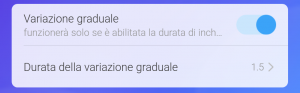 Sonoff variazione graduale (inching)