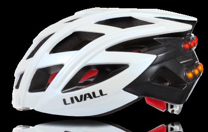 Casco bici con bluetooth integrato, luci e frecce Livall BH60