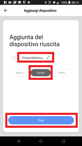 Presa intelligente Houzetek Smart Life App