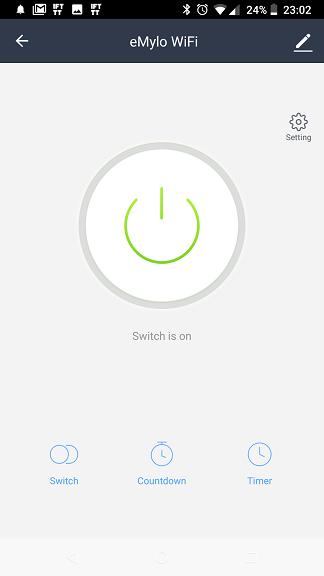 Interruttore WiFi eMylo