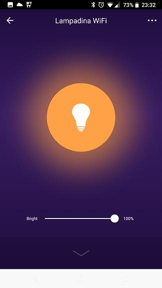 Lampadina WiFi Smart Life App