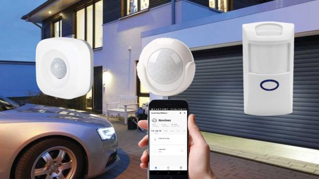 Sensore di movimento WiFi, Zigbee, Z-Wave | Rilevatore di presenza WiFi