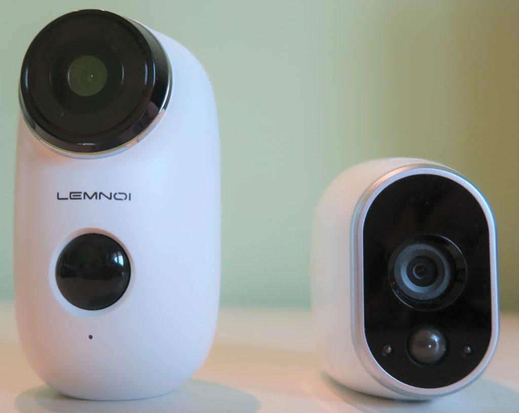 Telecamera con batteria ricaricabile Lemnoi A3 vs Arlo VMC3030