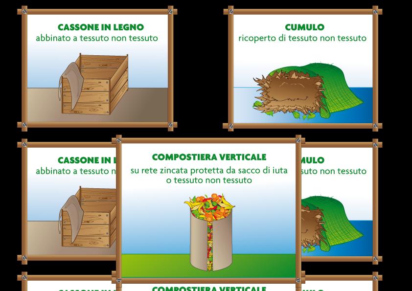 Cassone cumulo compostiera