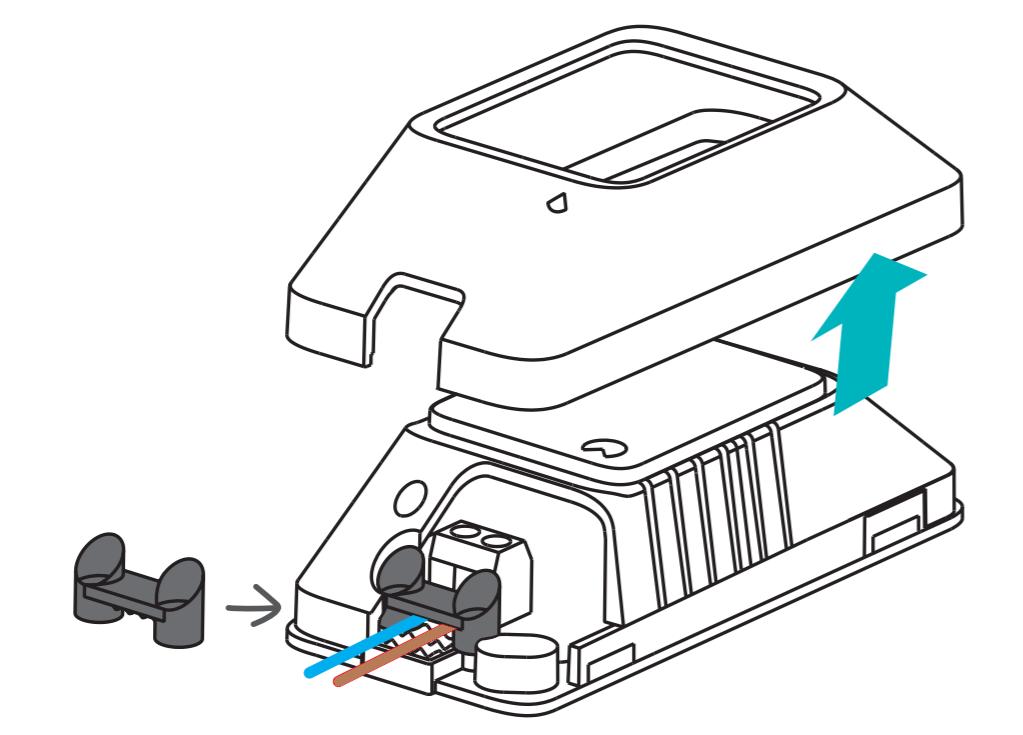 Sonoff Basic R3 schema elettrico di collegamento