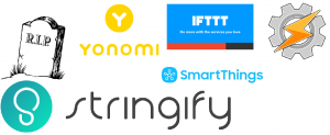 Stringify shutdown: quali alternative ? Yonomi, IFTTT, Tasker, SmartThings
