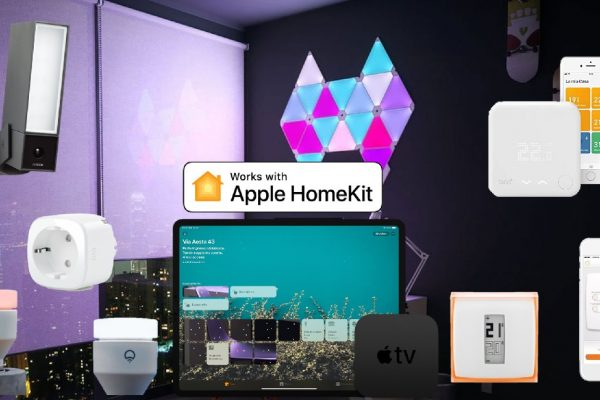 Domotica Apple HomeKit: striscia LED, prese intelligenti, termostato, interruttore