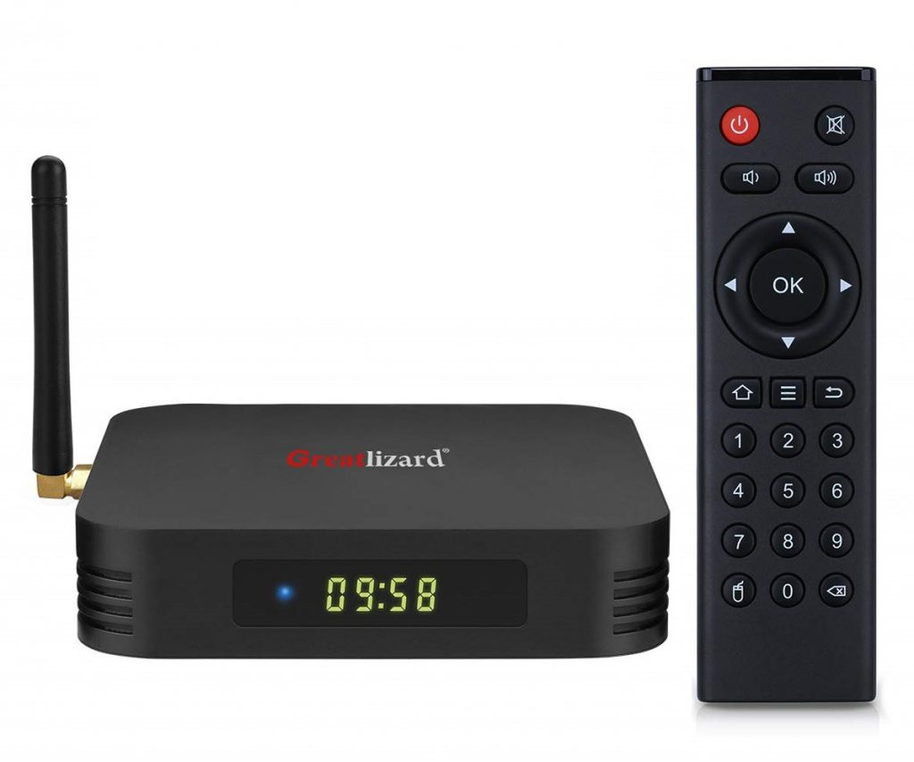 Miglior TV Box Android 2019: Greatlizard TX6