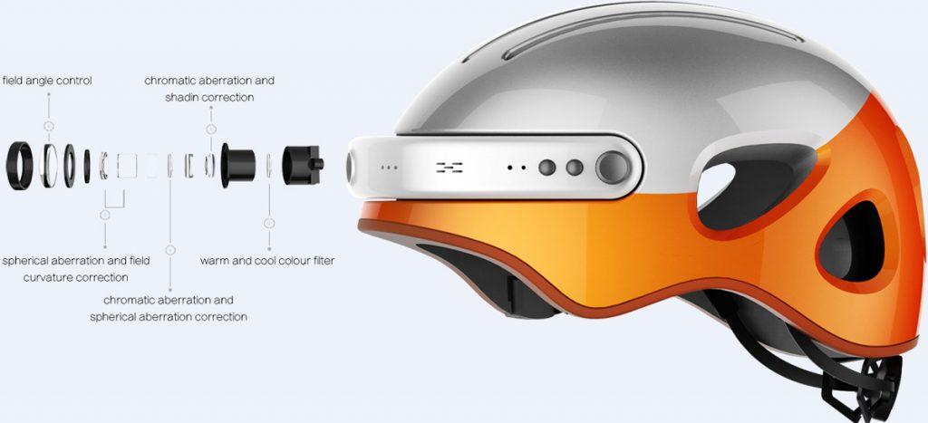 Casco bici con telecamera integrata Airwheel C5
