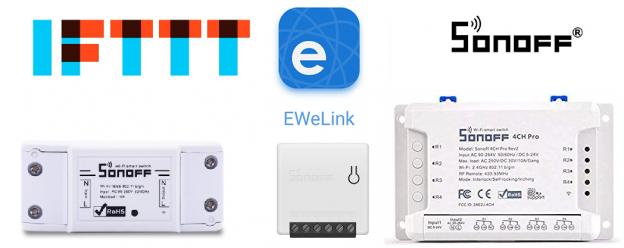 IFTTT Sonoff eWeLink | Guida completa in italiano