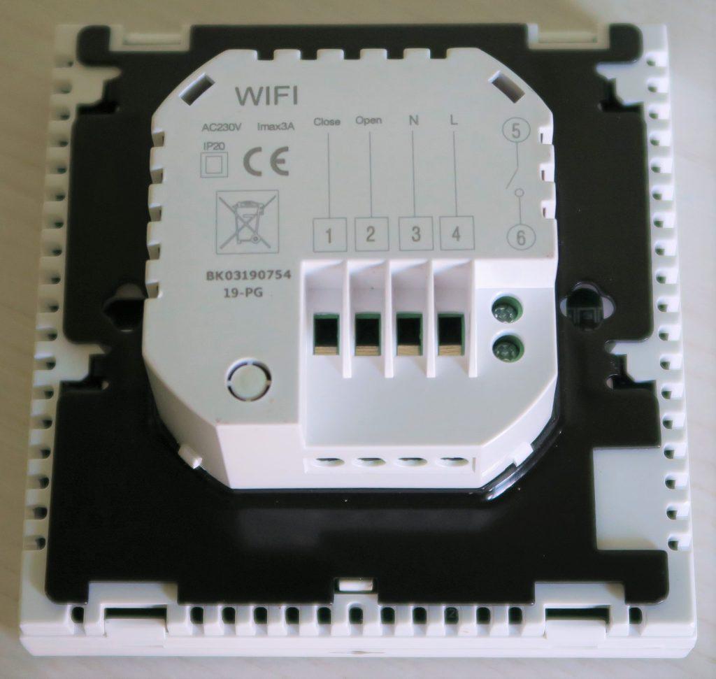 Termostato Beok BOT-313 WiFi retro